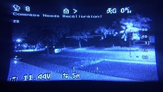 Quick test with my new Emax Night Vision IR FPV Video Camera