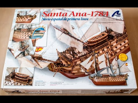 Artesania Latina Santa Ana 1784 1:84 Scale Wooden Model Ship Kit