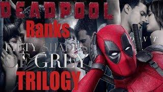 Deadpool Ranks All 3 Fifty Shades Movies