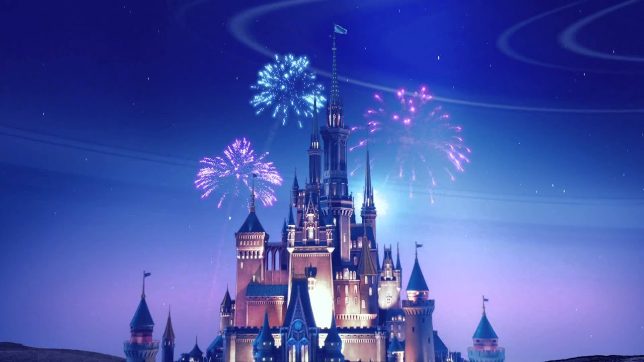 3d Fireworks Live Wallpaper Full Disney Blu Ray Disc Logo Youtube