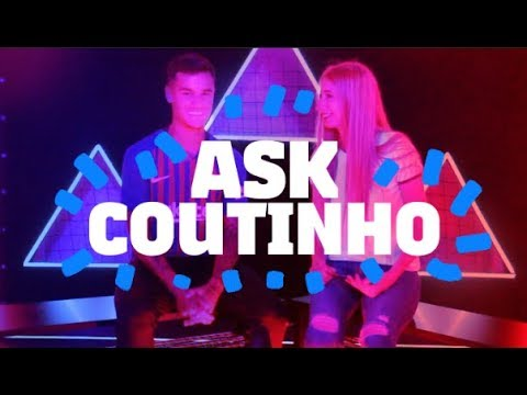 Who is Coutinho's favorite player? | FC BARCELONA VLOG WITH COUTINHO