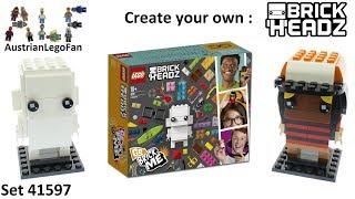 Lego Brickheadz 41597 Go Brick Me - Lego Speed Build Review