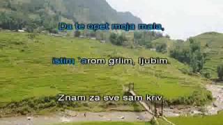 Halid Muslimovic Znam za sve sam kriv [karaoke]