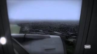 fsx b767 brisbane ybbn landing passengerview