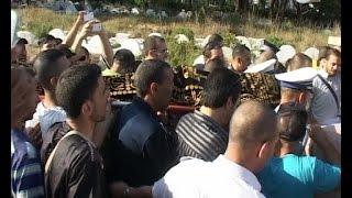 جنازة مهيبة لشرطي طنجة وحشود غفيرة تشيعه إلى مثواه الأخير