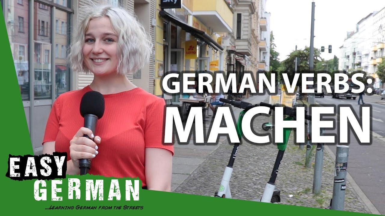 German Verbs: Machen | Super Easy German (142)