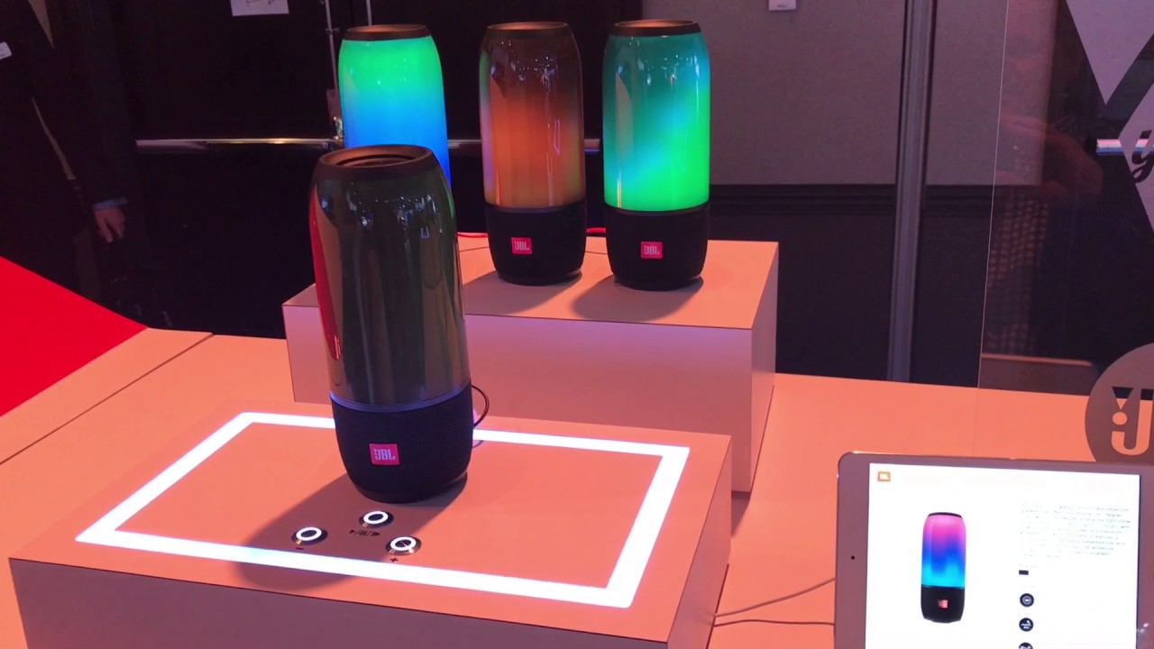 JBL Pulse 3: Lava Lamp Effects and Full Portable Sound - The