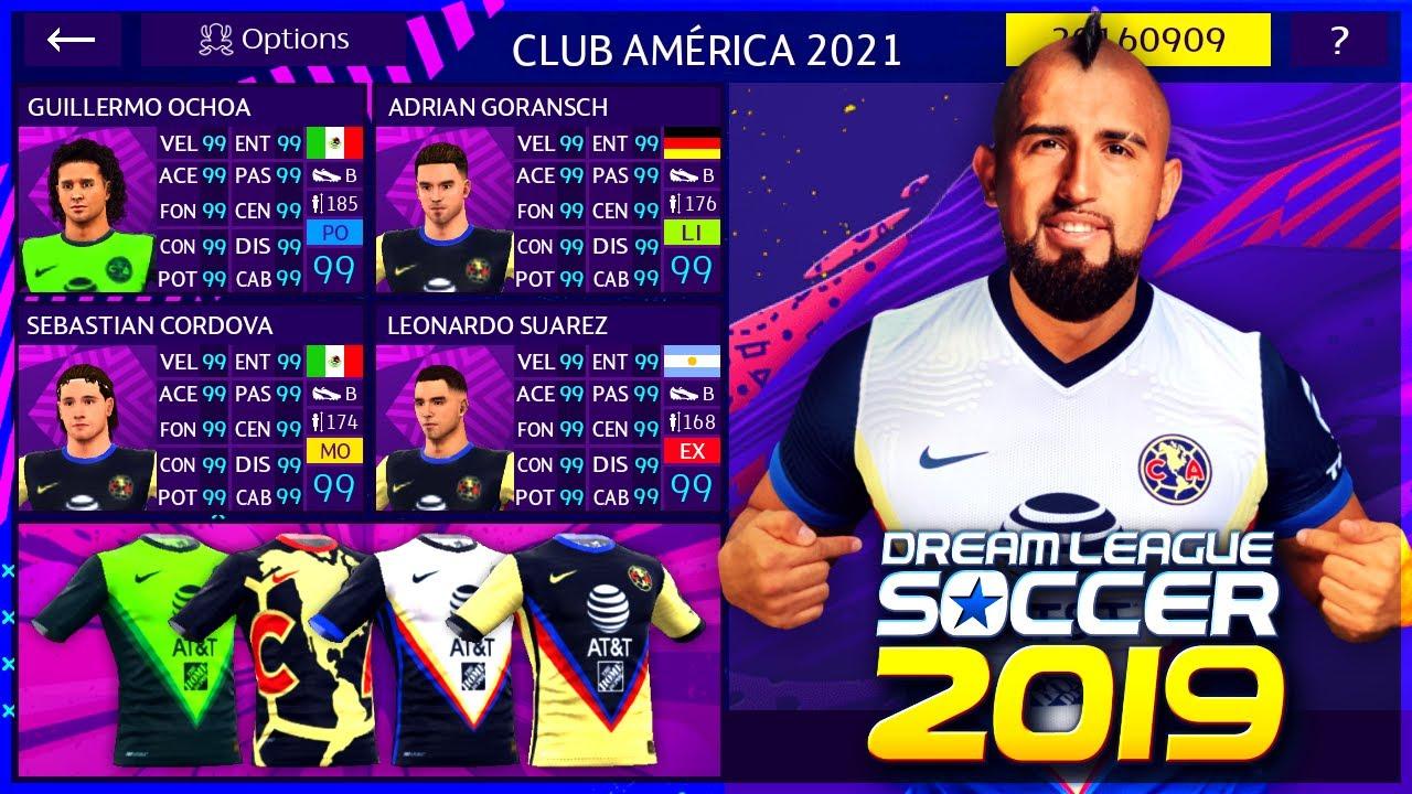 POR FIN! Plantilla América 2021 ARTURO VIDAL, GORANSCH + NUEVOS KITS!!
