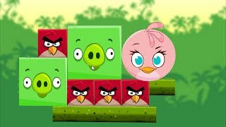 Angry Birds Kick Piggies - TRANSFORM THE STELLA TO KICK TWO HUGE PIGGIES!