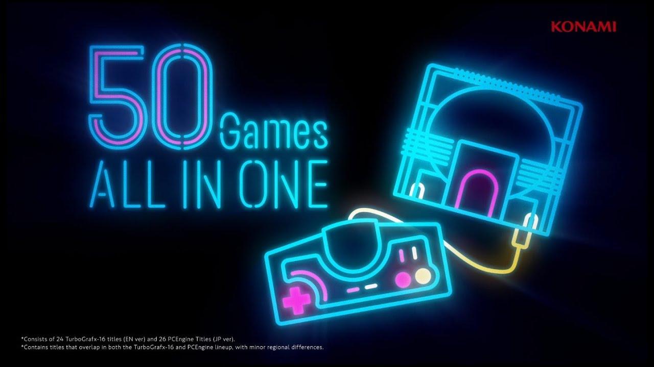 Image result for Konami unveils mini TurboGrafx-16 games line-up