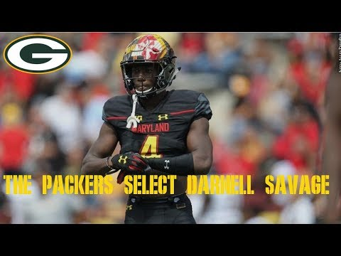 2019 NFL Draft: The Packers Select Darnell Savage S Maryland