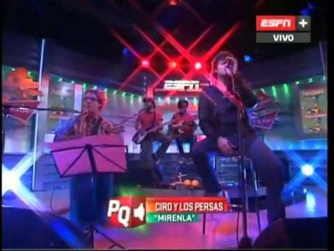 Andres Ciro y los Persas - Mirenla - En Pura Quimica 01 03 2013)