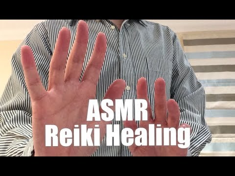 ASMR, REIKI HEALING (Hand movements, Energy Plucking, Male Voice, British Accent)