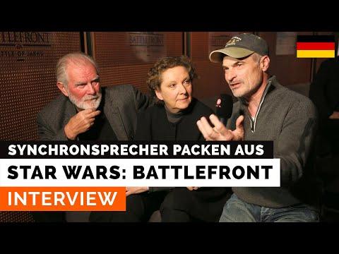 Interview mit den Star-Wars-Synchronsprechern (Hamburg, 1. Dezember 2015)