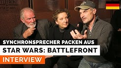 Interview mit den Star-Wars-Synchronsprechern (DE - Hamburg)