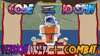 SHINOBI LIFE VERSION 0.942 (ROBLOX) CODE +COMBAT (MUST WATCH)