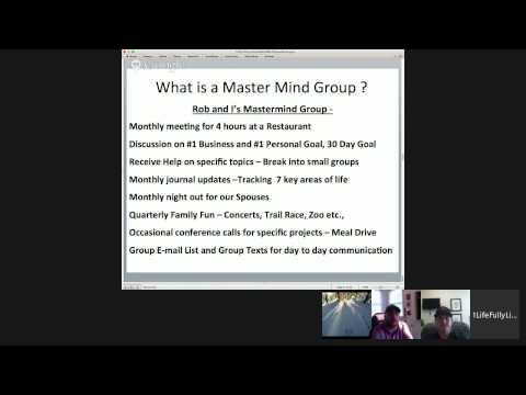 """Organizing Your OWN Mastermind Group"" W/ Mike McCarthy & Matt Aitchison"