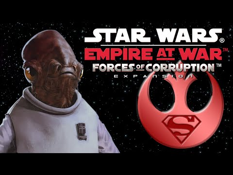 Let's Play Star Wars: Empire at War: Forces of Corruption (Rebel Conquest) - part 1