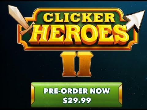 Clicker Heroes 2 Pre Order und beta News