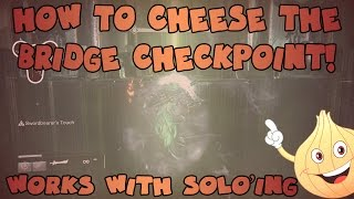 Destiny: How To Cheese/Solo The Crota