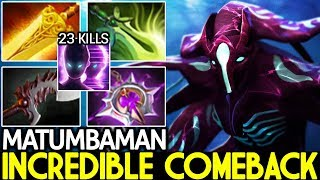 MATUMBAMAN [Spectre] Late Game Boss Incredible Comeback 7.25 Dota 2