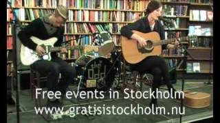 Promise and the Monster - Night Out, Live at Bibliotekspop, Stockholm 3(4)