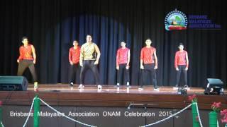 BMA onam 2015 - Bollywood Tollywood Dance