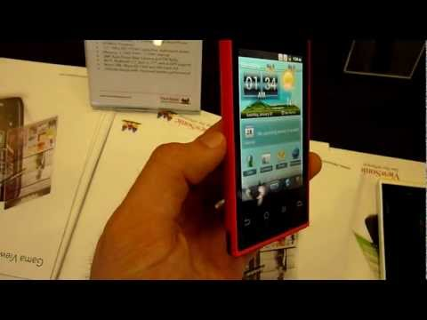 ViewSonic Viewphone 4e Smartphone im Hands On