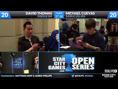 SCGDAL - Legacy - Round 4 - David Thomas vs Michael Cuevas