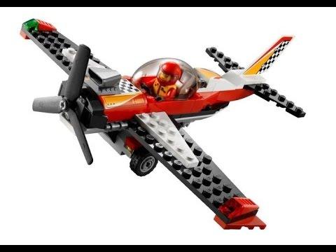 Lego city avi n acrob tico lego juguetes para ni os youtube - Avion de chasse en lego ...
