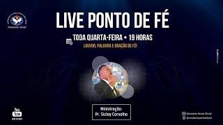Ministério Peniel Ao Vivo - Ponto de Fé Com o Pr. Siclay Carvalho