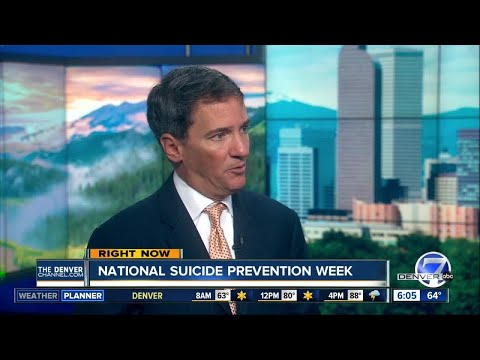 Mental health colorado talks about suicide prevention week