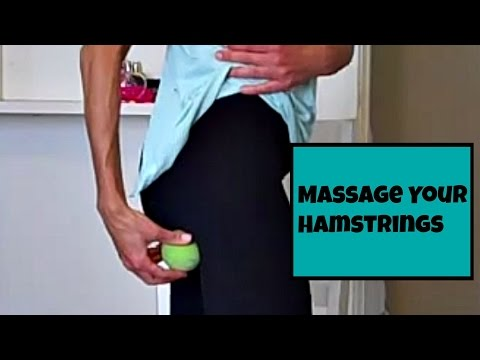 Fix Tight Hamstrings with this Massage Technique. Heal Tight, Tense, Muscles.