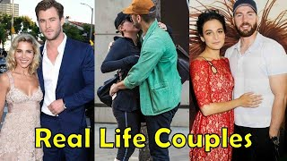 Real Life Couples of Avengers