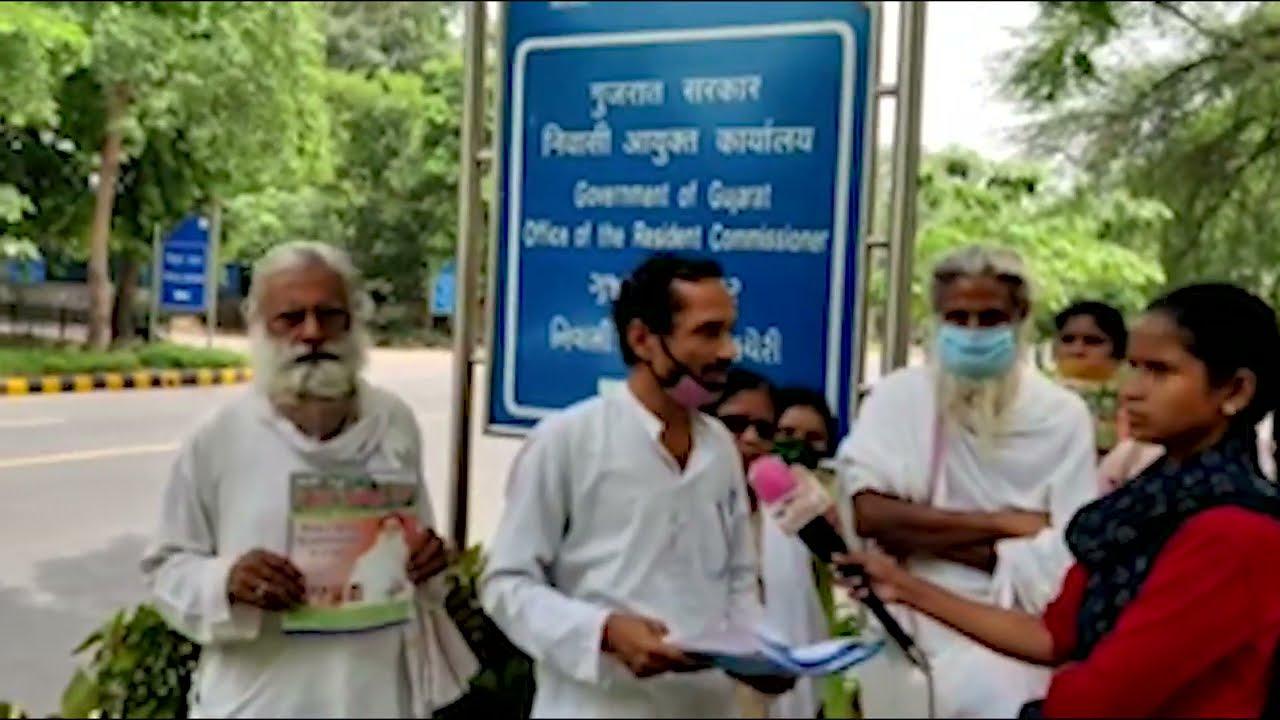 संत आशारामजी बापू प्रकरण में धर्म  रक्षा दल एवं रागनी जी ने गुजरात भवन दिल्ली में  उठायी आवाज  ।