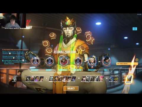 Overwatch Competitve Live Commentary: IMA ZEN MAIN!