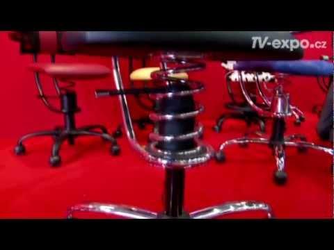 Speciální zdravotní židle Spinalis na pružině