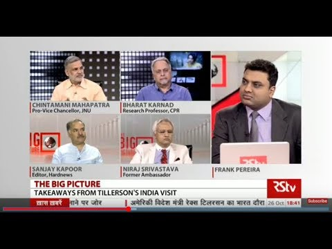The Big Picture - Strategic relations between India, US