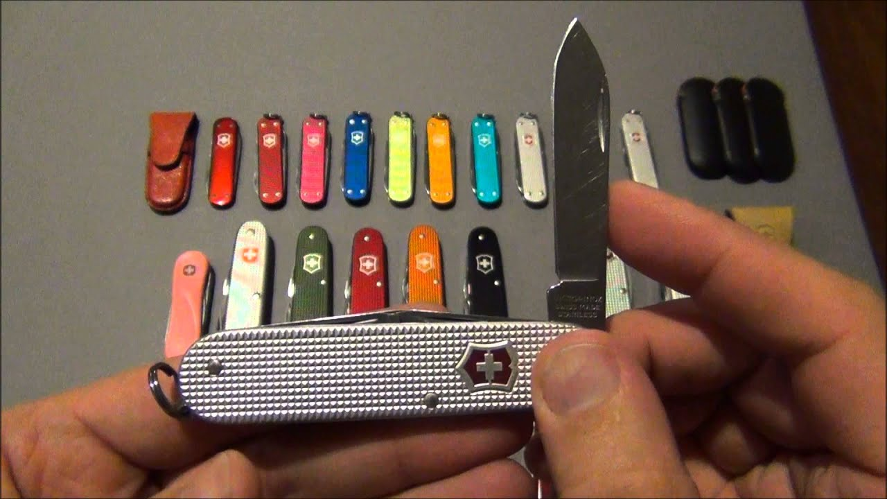 Swiss Army Knife Collection Update 2014 Youtube