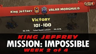 MISSION IMPOSSIBLE! KING JEFFREY vs VALAR MORGHLUIS | TOP RAIDS & WAR ANALYSIS