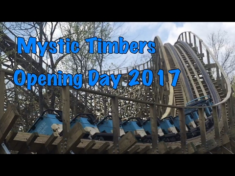 Mystic Timbers, The Beast And More! Opening Day 2017 Kings Island Season & 45th Anniversary!