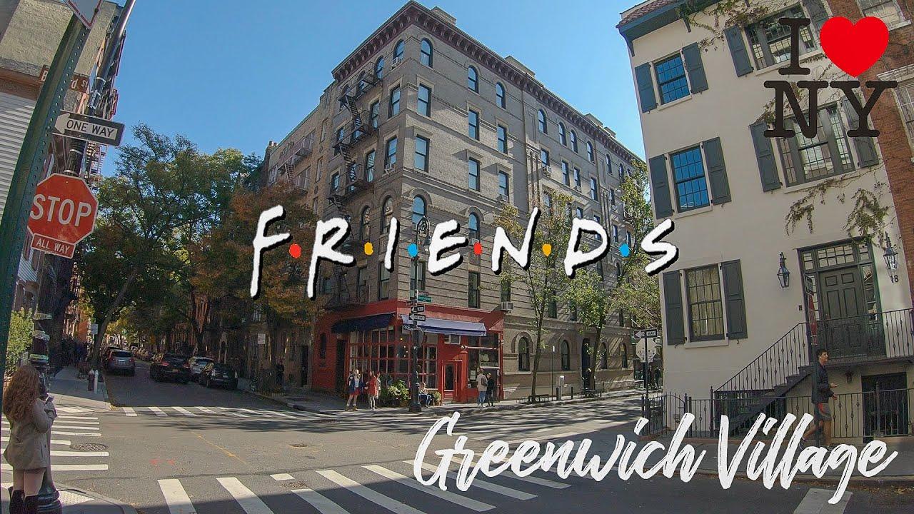 ⁴ᴷ⁶⁰ Walk In New York City Friends