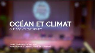 OCÉAN ET CLIMAT - Rencontre au Muséum national d'Histoire naturelle avec Isabelle Autissier