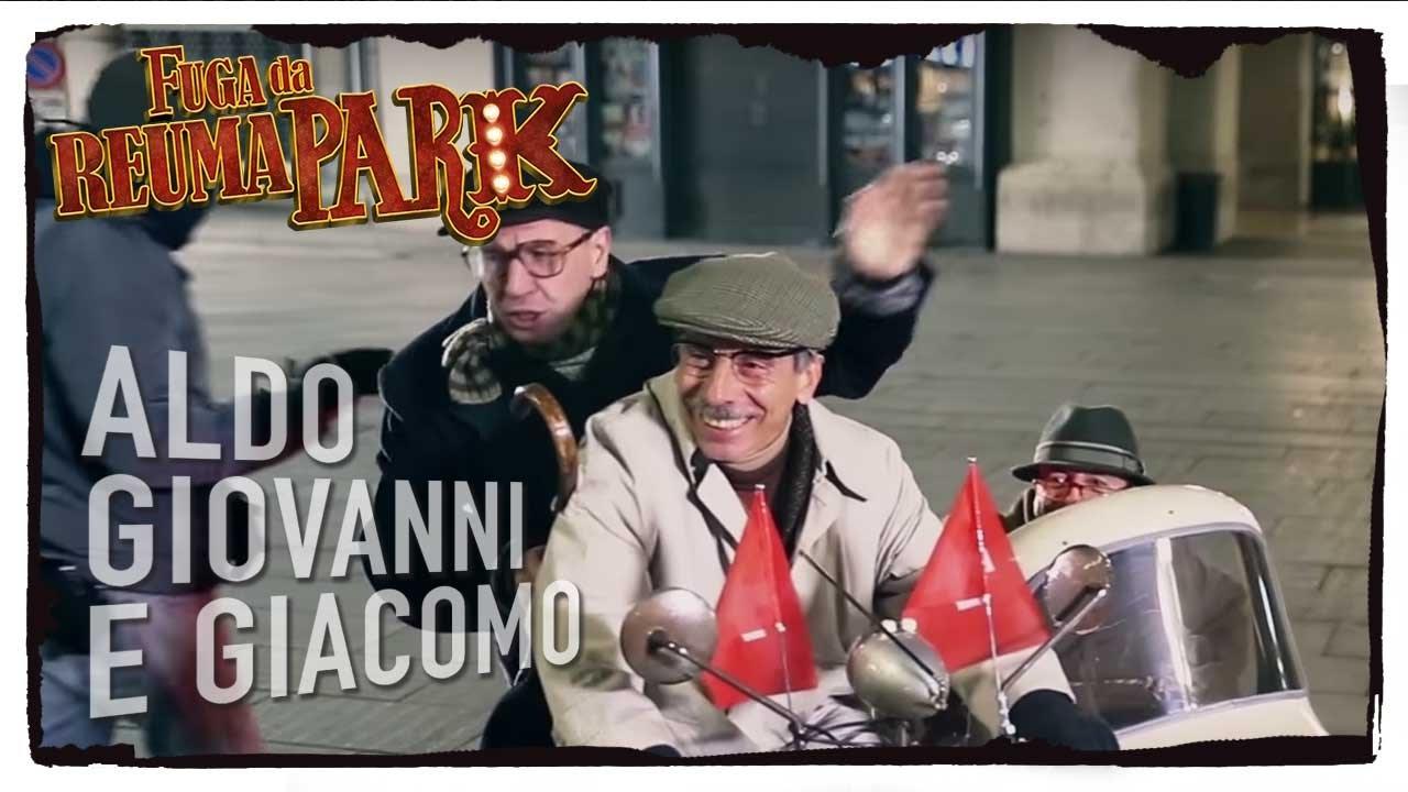 Fuga Da Reuma Park Backstage In Sidecar Aldo Giovanni E