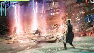 Devil May Cry 5 Shadow/Griffon/ナイトメア Vブイ vs Proto Angelo Gam...