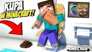 NOWA KUPA W MINECRAFT! - Just Poop Mod 1.14.2!