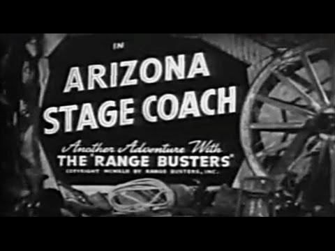 Random Movie Pick - Arizona Stage Coach (1942) YouTube Trailer