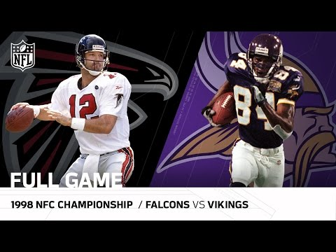1998 NFC Championship Game: Atlanta Falcons vs. Minnesota Vikings| NFL Full Game
