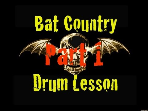 Bat Country (Avenged Sevenfold) Drum Lesson Part 1 - Beyond the Beat