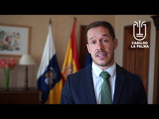 Declaraciones del Presidente del Cabildo de La Palma sobre el pleno que ha tenido lugar hoy.